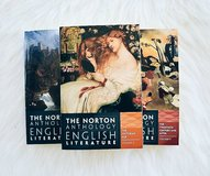 Norton Anthology English Literature Textbooks D E F in Camp Lejeune, North Carolina