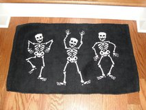 """HALLOWEEN SKELETON"" BATHROOM RUG FRONT DOOR RUG in Camp Lejeune, North Carolina"