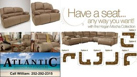 Reclining Sofa or Sectional! in Cherry Point, North Carolina