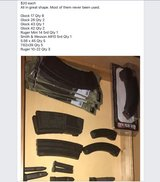 Pistol/ rifle magazines in Baytown, Texas