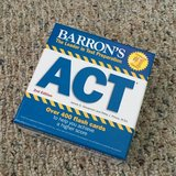 ACT review flash cards (new) in Perry, Georgia