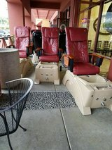 5 SPA LEATHER CHAIRS in Temecula, California