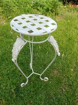 Wrought Iron Plant Stand Table in Aurora, Illinois