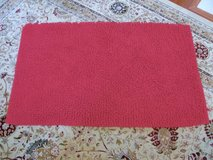 Red Chenille Kids Room Throw Rug in Camp Lejeune, North Carolina