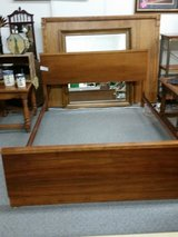 Full size solid wood bed in Springfield, Missouri