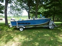 16Ft alumnun V hual boat with 70hp motor & trailer in Hopkinsville, Kentucky