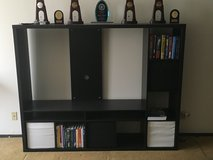IKEA Black TV Storage Unit in Bartlett, Illinois