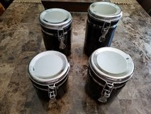 4-Piece Black Canisters Set in Fort Campbell, Kentucky