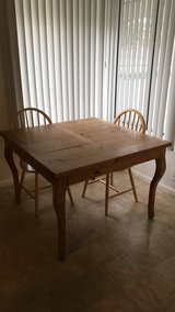 Kitchen table set in Riverside, California