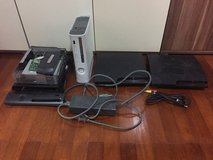 2 PS3 and 2 xbox360 for parts or repair in Okinawa, Japan