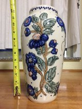 Large Polish Pottery Vase in Okinawa, Japan