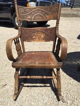 Antique adult rocking chair in Elgin, Illinois