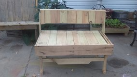 hand crafted solid wood Bench in Lawton, Oklahoma