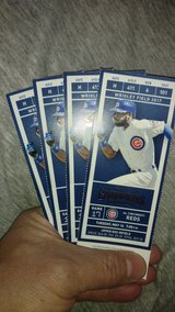 Cubs vs Reds 5/16 7:05 FACE VALUE in Naperville, Illinois