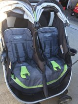Graco Double Stroller (side by side) in Camp Lejeune, North Carolina