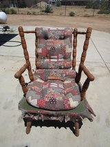Early American Style Maple Rocker in Yucca Valley, California