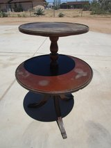 Two Tier Piecrust Table in Yucca Valley, California