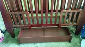 Crib - Toddler Bed - Full Size headboard in Sandwich, Illinois