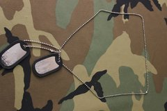 CUSTOM MADE DOGS 6 PC SET MILITARY ISSUE in Moody AFB, Georgia