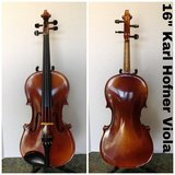 "16"" Karl Hofner Viola (German) 1969 in Joliet, Illinois"