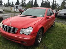 2002 MERCEDES C320 in Fort Lewis, Washington