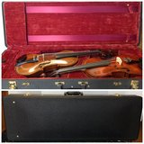Double Violin Case (red int) in Aurora, Illinois