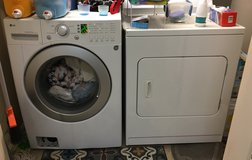 HD washer and Kenmore dryer in Fairfax, Virginia