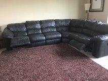 Leather Sectional in Algonquin, Illinois