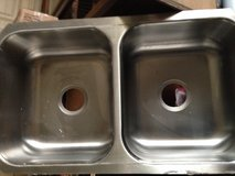 Double Bowl Undermount Stainless Steel Sink in Vacaville, California