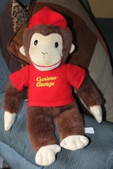 "Curious George with Hat and Shirt 18"" Plush Toy Toddler in Bartlett, Illinois"