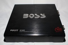 BOSS - Riot 2400W Monoblock, Class D Amplifier in Kingwood, Texas