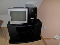 REDUCED T.V. Stand and  reduced PC monitor in Ramstein, Germany