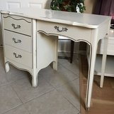 Vintage Antique French Provincial Table Desk Vanity in Naperville, Illinois