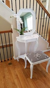 Shabby Chic / Landhouse style vanity makeup table set in Fort Carson, Colorado