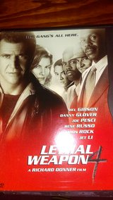 Lethal Weapon 4 - DVD in Lawton, Oklahoma