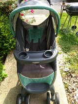 Stroller- Grandmother kept inside home. No pets. Non- smoker. 2 cup holders on top & 2 on baby t... in Fort Campbell, Kentucky