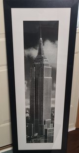 Wall Decor/Framed Print Empire State Building in Naperville, Illinois