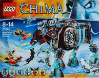 Lego Chima 70145 Maula's Ice Mammoth, New - still sealed, Retired! in Ramstein, Germany