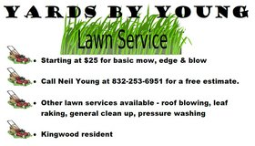 Lawn Services - Pressure Washing - Kingwood Resident in Kingwood, Texas