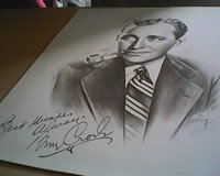 Picture of Bing Crosby in Waukegan, Illinois