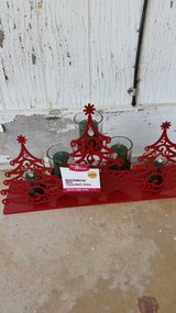 BHG Limited Edition Whimsical Trees Tea Light Rail in Perry, Georgia
