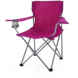 (7) Ozark Trail Folding Camping Chairs (Raspberry) - NEW! in Joliet, Illinois