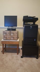 Dell Multifunction Color Laser Printer 3115cn with stand, dock station and extra toner cartridges. in Houston, Texas