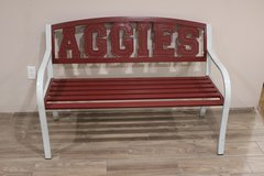 Aggies Outdoor Bench in Tomball, Texas