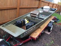 12 foot Jon Boat with Utility Trailer in Lockport, Illinois