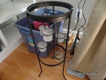 Party Lite Candle stand (black metal) in Camp Lejeune, North Carolina