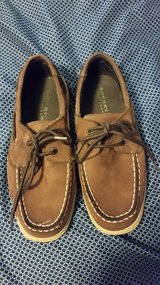Boys Sperry Boat Shoes size 4m in The Woodlands, Texas