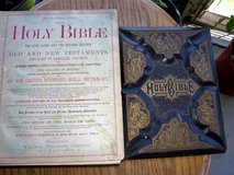 Antique Holy Bible 1800's in Fort Benning, Georgia