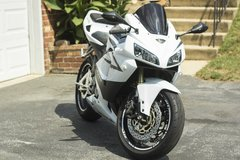 2005 Honda CBR 600 RR White in Minneapolis, Minnesota