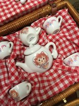 Child's tea set in Houston, Texas
